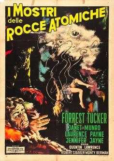 "Movie Posters:Science Fiction, The Crawling Eye (Euro International Films, 1959). Italian 2 -Foglio (39"" X 55"") Morini Art.. ... Image #1"