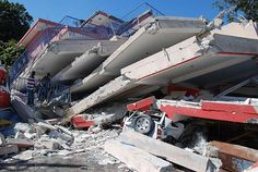 "(""Large parts of Haiti's capital of Port-au-Prince have been destroyed by a 7.3 magnitude earthquake on 12 January"") Photo taken on 15 January 2010.  To find out more about the Red Cross response to the earthquake in Haiti, visit Disaster Online Newsroom  To donate visit www.redcross.org  Please credit IFRC/Eric Quintero"