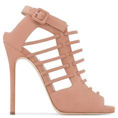 Giuseppe Zanotti JLO' pink suede boot