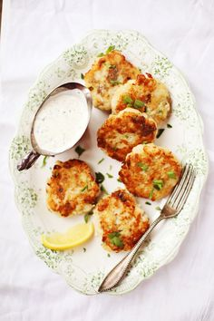 Crispy Potato-Fish Cakes