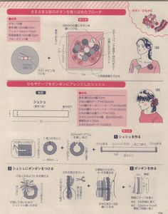 Japanese book and handicrafts - Lady Boutique Flat Felled Seam, Sewing Patterns Free, Free Sewing, Japanese Books, Leather Pattern, Ladies Boutique, Scrunchies, Handicraft, Beauty Skin