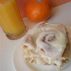 Dad's Orange Cardamom Breakfast Rolls