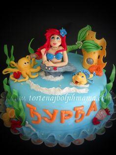 Mala Sirena torta   Mala Sirena Torte   Pinterest