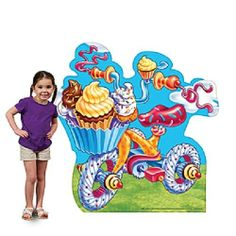 CANDY LAND TRICYCLE STANDEE * birthday * game party  * candy land *