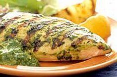 Pesto Chicken [Made October 2014 For Robby's Birthday Dinner]