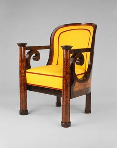 1820-1825 Austrian Armchair at the Art Institute of Chicago, Chicago