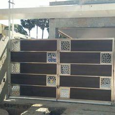 Laser Cut Compound Gate Compound Wall Gate Design, Gate Wall Design, Home Gate Design, Grill Gate Design, Front Wall Design, House Main Gates Design, Steel Gate Design, Iron Gate Design, Home Building Design