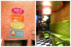 frozen yogurt shop decor | YogurtDecor