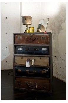 suit case rack by james plumb