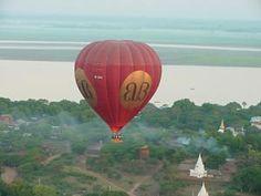 Bagan Heißluftballon, Myanmar