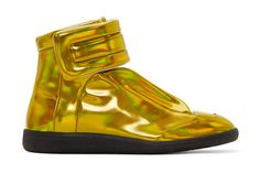 Shiny new futuristic high-tops from the renowned atelier.