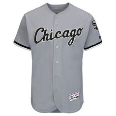 Men's Chicago White Sox Majestic Gray Flexbase Authentic Collection Team Jersey