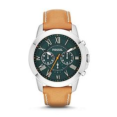 Fossil Grant Chronograph Leather
