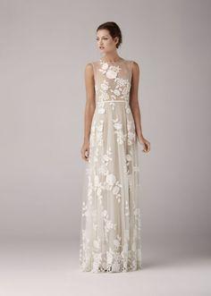 Buy Wedding Dresses Anna Kara Arya Nude 2014 At Cheap Price