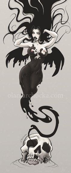 Skull Spirit by ~aleksandracupcake on deviantART