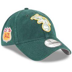Oakland Athletics New Era 2017 Spring Training Diamond Era 9TWENTY Adjustable Hat - Green