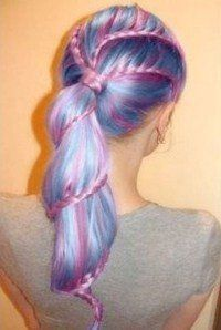 Pastel Hair Chalk 6 Piece Kit Boho Temporary Hair Color Lavender Pink Vibrant Blue Spring Green Yellow This Year's Latest Craze!