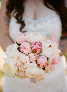 30 Most Romantic Peony Wedding Bouquets