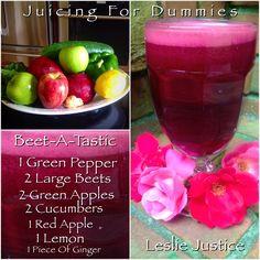 Beet-A-Tastic  #juice #juicingfordummies #health #weightloss