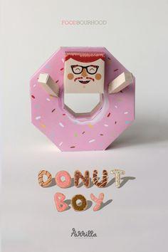 FOODBOURHOOD - DONUTBOY on Toy Design Served