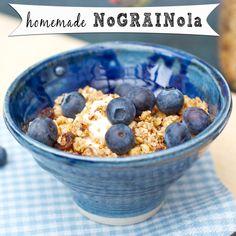 Homemade no-GRAIN-ola  #grainfree, #paleo, #breakfast