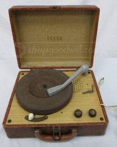 Vintage Dorchester Rp 25 Music Maker Turntable Put The