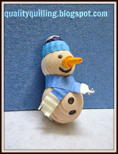 Quality Quilling: Do you wanna quill a snowman????