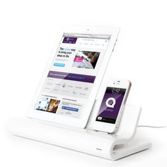 Quirky docking station for your iDevices.