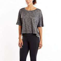 Pin for Later: 39 Summer Crop Tops For Your Gym and Studio Workouts Lucy Kimono Tee Lucy Kimono Tee ($55)