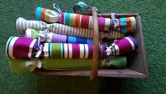 Striped tea towels complete with hanging corner tags. Each drying up cloth measures 70 x cotton. Home Furnishing Accessories, Home Accessories, Winter Essentials, Winter House, Striped Fabrics, Tea Towels, Stripes, Decorating, Architecture