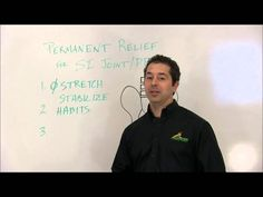1. Don't Stretch...Stabilize 2. Take a look at your Habits. 3. What does successful treatment look like for SI Joint and Pelvic Pain without medications, inj...