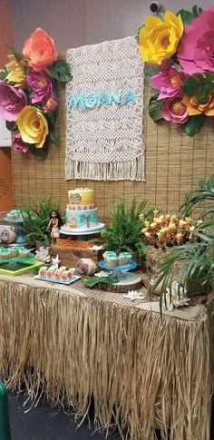 Moana Birthday Party Ideas | Photo 1 of 24