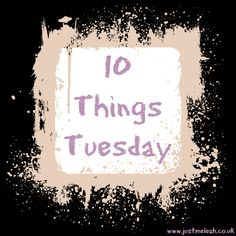 Just me, Leah.: 10 Things Tuesday #2 - Pie in the sky wishlist. #blogging