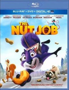 The Nut Job Contest Giveaway Sweepstakes. This The Nut Job Blu-ray contest, giveaway, sweepstakes illustrates The Nut Job's release on DVD and Blu-ray on Kid Movies, Disney Movies, Movie Tv, 2015 Movies, Movies Free, Cartoon Movies, Movie List, Will Arnett, Gabriel Iglesias