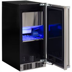 Professional Clear Ice Machine with Sapphire Illuminice™ Lighting