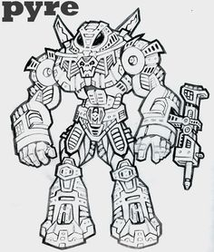 HORD  TROPER | Pyre's Horde Trooper by TheGreenSkeletor
