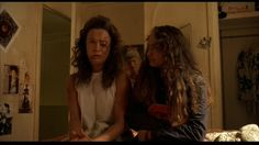 Once Were Warriors (1994) Beth is abused frequently by her husband, Jake but will not leave him. http://4.bp.blogspot.com/--B7QSaXlqKU/UTDQZ_AF8TI/AAAAAAAAdPE/586pKY2EXIE/s1600/Once+Were+Warriors+14.jpg