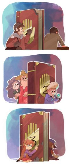 The things that keep us apart by markmak (Both Stans lost their brotherhood. Gideon lost his childhood. Will Dipper and Mabel loose their siblinghood? ~JohnnyTeoss)