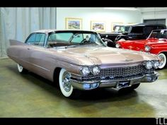 Cadillac coupe DeVille - In 6th grade the family who lived across the street from us had a beautiful rose colored Cadillac, I often went on family day trips or rode to and from church with their family.