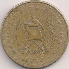 Motivseite: Münze-Amerika-Guatemala-Quetzal-1.00-1998-2013