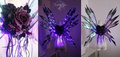 Light Up Fairy Wing Tutorial by FireflyPath on Etsy