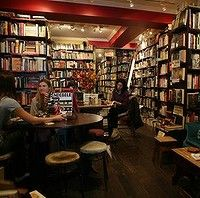 Gertrude and Alice Bookstore, Bondi. From a Sydney Morning Herald article on cosy cafes and restaurants in Sydney.