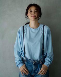 Street Snap, Japan Girl, Japanese Beauty, Summer Wardrobe, My Girl, Cute Girls, Sexy Women, Bomber Jacket, Ruffle Blouse