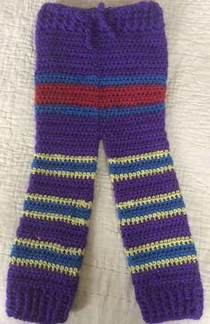 Monster Pants Kids Crochet Multiple Sizes Monster by NovasMeme