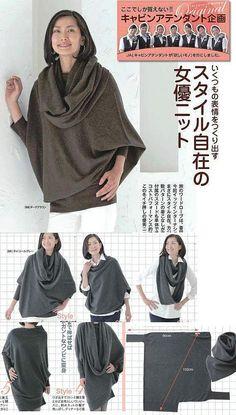 топ - трансформер (Lo) / Простые выкройки / 'Вторая улица' - мода и интерьер своими руками!