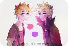 Star vs the Forces of Evil- genderbent/ humanized/ anime version/ gijinka
