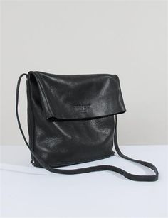Awesome fold-over, crossbody purse. Black is great.