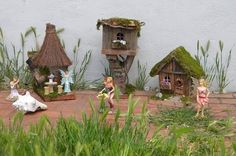 Cute miniature Fairy Garden  Houses