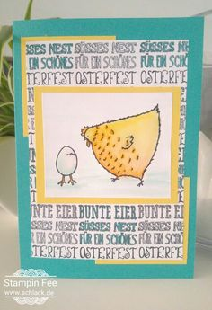 stampin sale a bration Occasions hey chick egg das gelbe vom ei huhn ei hüher Ostern easter fühlingskatalog 2017