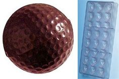 Fat Daddios Golf Ball Polycarbonate Candy Mold 18Piece Tray * For more information, visit image link.(This is an Amazon affiliate link)